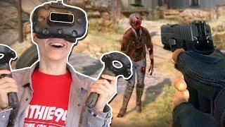 BEST VR ZOMBIE FPS EVER! | Arizona Sunshine VR (HTC Vive Gameplay)