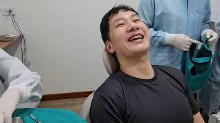 충치 땜에 이가 아파서 치과 왔어요 | 태국 현지 로컬…