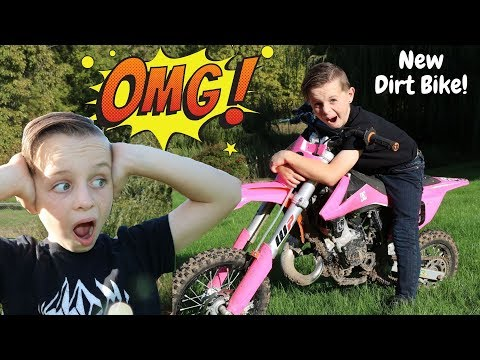 I Got a New Dirt Bike!!