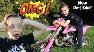 I Got a New Dirt Bike!!