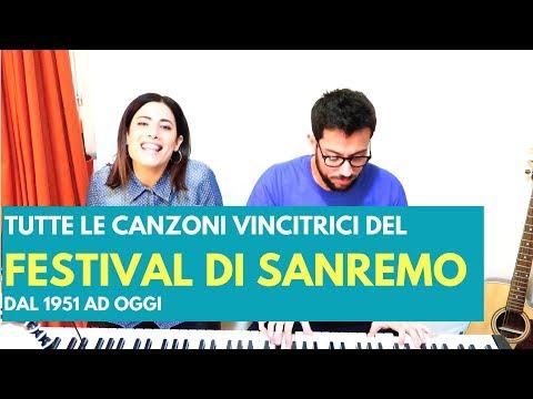 FESTIVAL DI SANREMO: TUTTE LE CANZONI VINCITRICI DAL 1951 - MEDLEY BY LAICA
