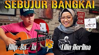 Download lagu Alip Ba Ta feat Lilin Herlina - SEBUJUR BANGKAI - collaboration ( singing guitar )