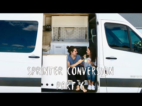 Converting a Sprinter Van | Part 6 of 6 | Solar Panel, Electricity, Finishing Details