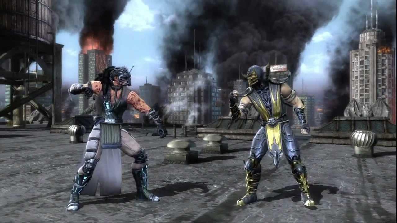 mortal kombat ranked online hd kabal vs scorpion youtube