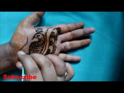 stylish peacock henna mehndi designs for hands simple peacock tattoo designs youtube. Black Bedroom Furniture Sets. Home Design Ideas
