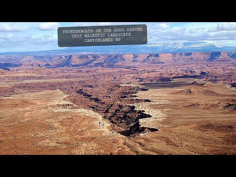 Thunderbolts of the God's Carved this Majestic Landscspe, Canyonlands NP