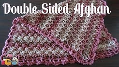How to Crochet a Double Sided Afghan - Right Handed Crochet Tutorial