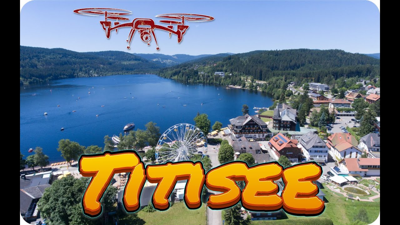 Titisee Im Schwarzwald Einzigartige Luftaufnahmen Vom Titisee Youtube