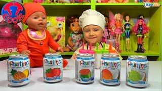 ✔ Беби Борн. Ярослава и кукла готовят мороженое. Видео для детей. Челендж!!! Угадываем вкус сока ✔(Привет! Смотрите сегодня, как Ярослава и Кукла Беби Борн будут готовить мороженое. Но перед этим они решил..., 2016-03-09T09:10:23.000Z)