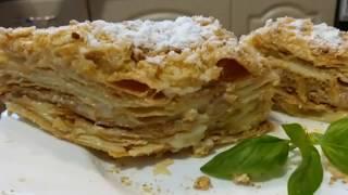 Торт Наполеон. Самый слоеный и вкусный рецепт.