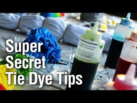 Super Secret Tie Dye Technique Youtube