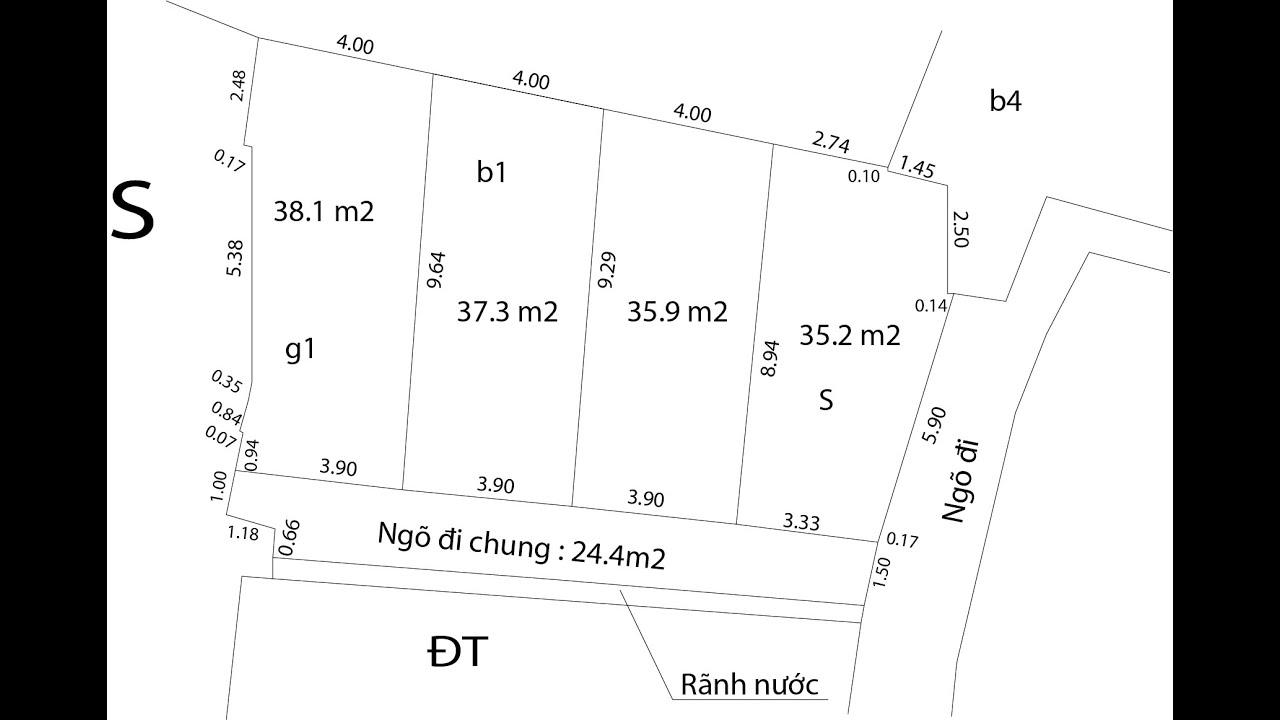 image Chính chủ bán đất ngõ 493 đường an dương vương diện tích 35-38m2 giá 1.65-1.75 tỷ sdt: 0869867188