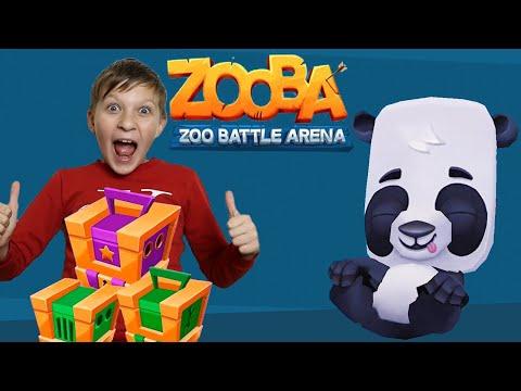 Zooba! 🦁 Новый ГЕРОЙ в ящиках 🐼! Новое Обновление.