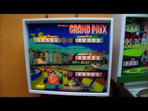 Bringing Williams' Grand Prix Pinball Machine Back To Life!  Schematics, Schematics, Schematics