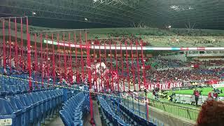J1第29節 浦和vs神戸 前半4分小川慶治朗選手得点直後のヴィッセル神戸サ...