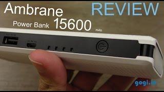 Ambrane P-1311 15600 mAh power bank review