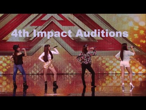 4th Impact (4th Power) X Factor UK Auditions Compilation