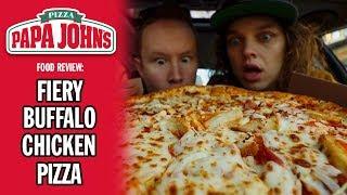Papa John's Fiery Buffalo Chicken Pizza Review