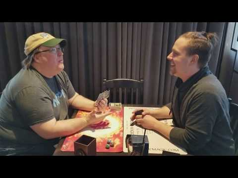 MTG HOF Randy Buehler PLAYTESTS A NEW Old School Magic DECK = Land's Edge/Tax