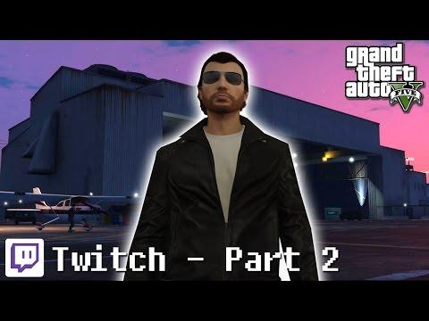 GTA V - Twitch Stream 2 - Crew Party