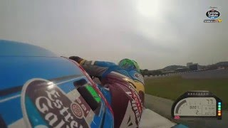 Onboard at Jerez with Franco Morbidelli