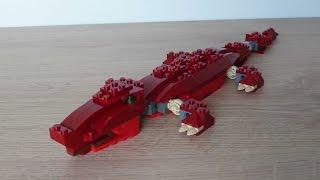 lego 4507 lego creator designer set prehistoric creatures crocodile 6 9