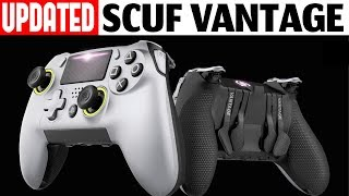 Scuf Vantage - Fixed? Unboxing & Review, UPDATED Controller