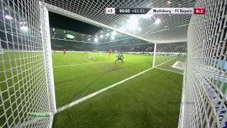 Арьен Роббен видео гол  Вольфсбург   Бавария  Чемпионат Германии по футболу 22(, 2014-09-29T08:07:01.000Z)