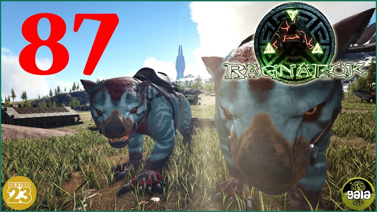 Ark Ragnarok Thylacoleo Tour 87 Lets Play Togethergameplay