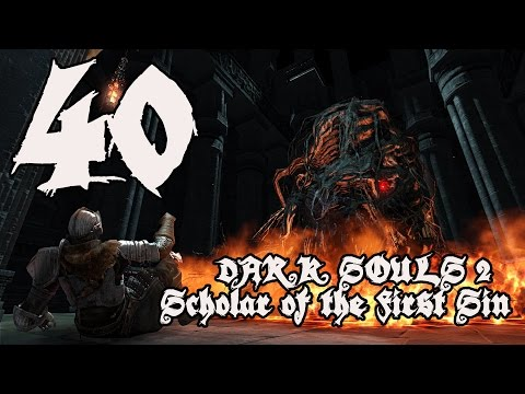 Dark Souls 2 Scholar of the First Sin - Walkthrough Part 40: Guardian Dragon