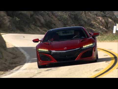 MotorWeek | Road Test: 2017 Acura NSX