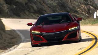 MotorWeek | Road Test: 2017 Acura NSX