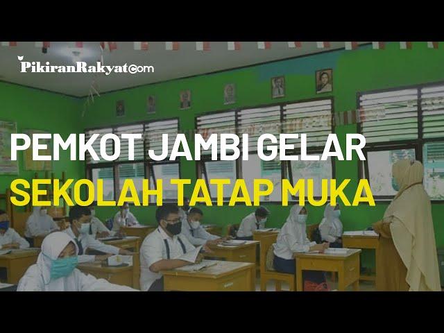 Gelar Sekolah Tatap Muka, Pemerintah Kota Jambi Memberi Kewajiban Baru pada Siswa SD dan SMP