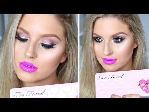Chit Chat GRWM ♡ Purple Lips & Smoky Pink Eyes