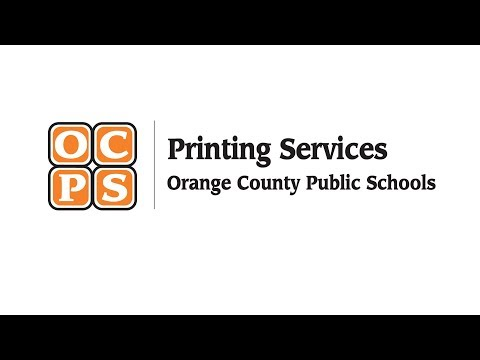 OCPS | Printing Services