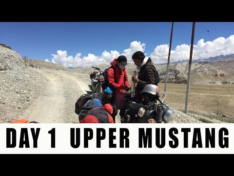 DAY 1 Bike Ride to Upper Mustang / Nepal-China border