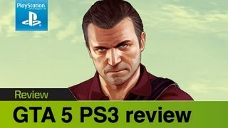 GTA 5 PS3 review & gameplay video- Grand Theft Auto reaches new heights on PlayStation 3