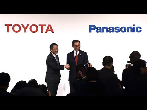 Toyota and Panasonic Joint Press Conference - Development of