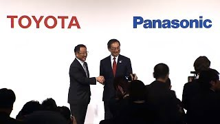 Toyota and Panasonic Joint Press Conference - Development of Electric Vehicle Batteries thumbnail