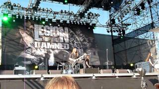 Legion of the damned:Son of the Jackal@Masters of rock 2011