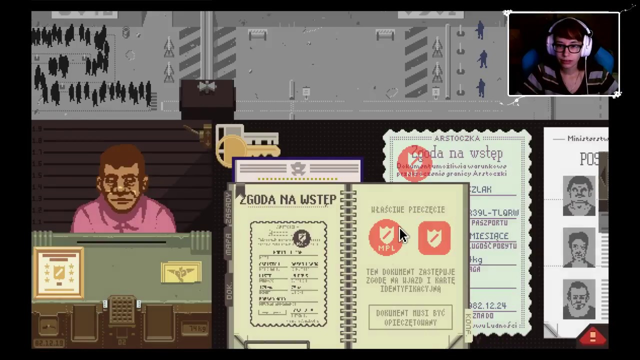 "[Archiwum] Live – Papers, Please! (6) – [2/2] – ""Ukochana Sergiu"""