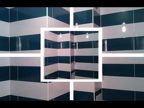 Дизайн ванной комнаты. Раскладка керамической плитки.