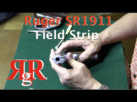 Ruger SR1911 Field Strip
