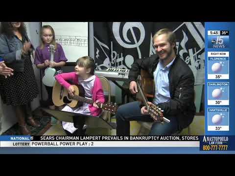 Amanda Live at Saving Grace Music - WPDE ABC 15