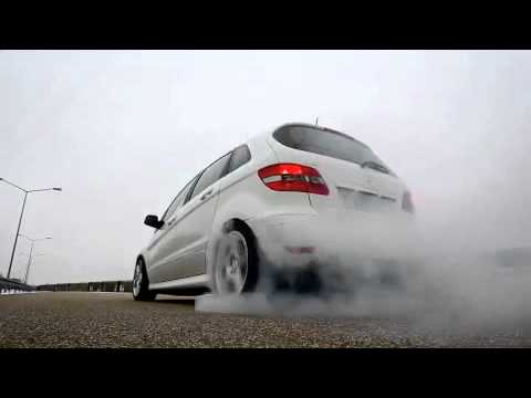 Apprentice-Built Mercedes-Benz B55 Burnout