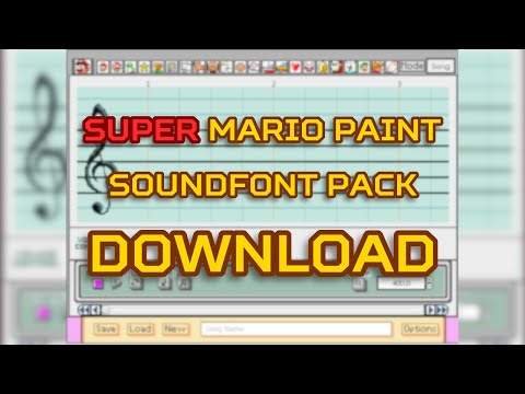Super Mario Paint - Soundfont Pack *SMP Edition* + Download