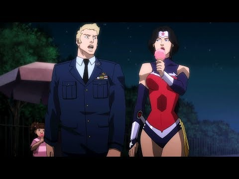 Wonder Woman saves the president | Justice League: War