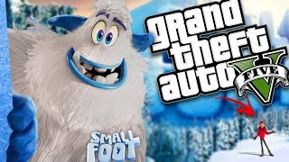 THE NEW SMALLFOOT MOVIE MOD (GTA 5 PC Mods Gameplay)