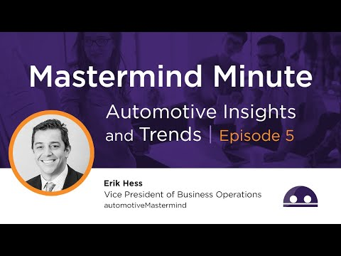 Mastermind Minute Episode 5 - Dealership Scoreboards and Meaningful Dealer Metrics