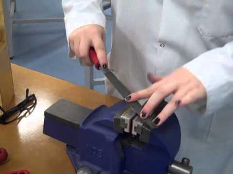 Filing Processes- Metalwork Bench Processes